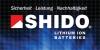 SHIDO Lithium Batterien