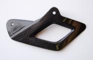 LighTech Carbon, Unterer Kettenschutz glänzend.
