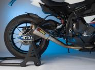 LighTech Carbon, hinterer Kotflügel inkl. Kettenschutz glänzend.