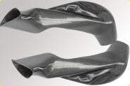 LighTech Carbon, Airboxrohre, glänzend! Auslaufmodel.