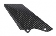 Fersenschutz Carbon Bremsseite.