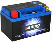 SHIDO Lithium Ion Batterie YT12A-BS