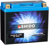 SHIDO Lithium Ion Batterie YT14B-BS (GT14B-4)