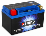 SHIDO Lithium Ion Batterie YTX12-BS (YTX12L-BS)