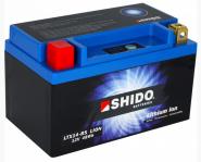 SHIDO Lithium Ion Batterie YTX14-BS (auch als Ersatz f.YTX14H-BS)