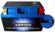 SHIDO Lithium Ion Batterie YTZ10S