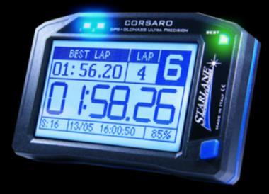 Starlane CORSARO DUAL GPS Laptimer & Funk Datenlogger