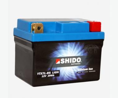 SHIDO Lithium Ion Batterie YTX7L-BS