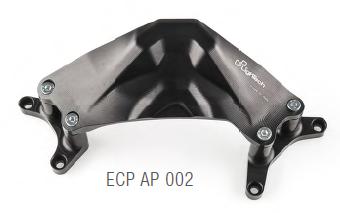 Lightech Aluminium Kupplungsdeckel Protektor für Aprilia RSV 4/Factory/APRC Bj. ab 2009-