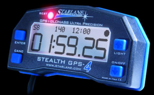 Starlane Laptimer Stealth GPS 4 DATA